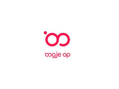 Minimal logo optician glasses fun simple logo minimal optician