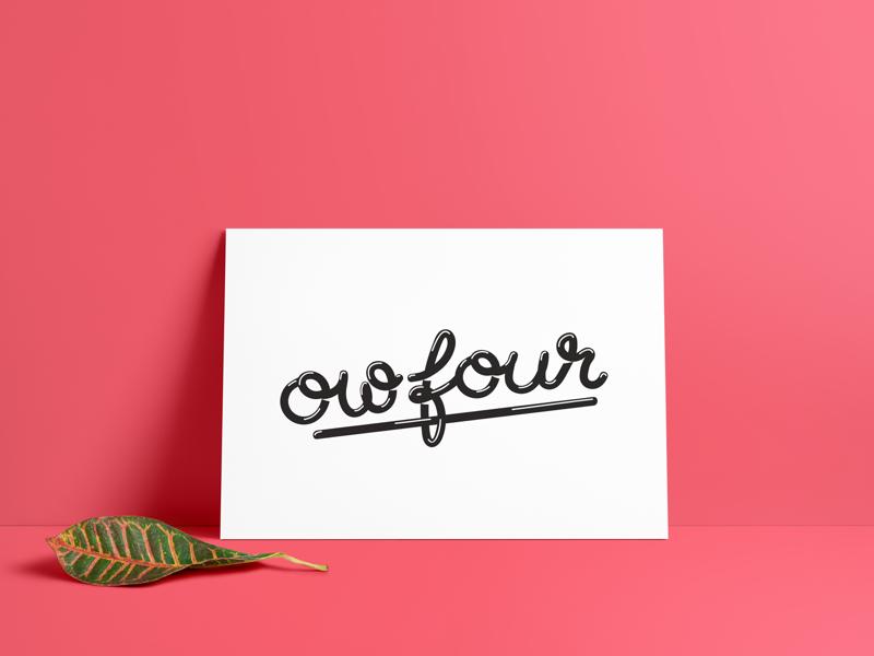 Hand lettering logo letters logo drawn lettering hand