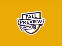 Fall Preview Days Logo