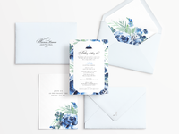Cindrella Theme Invitation Suite