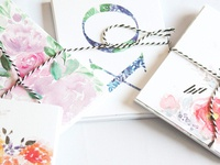 Watercolour Notecards