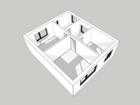 First Floor 3D Render