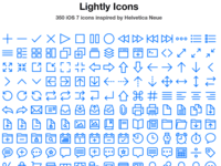 Lightly Icons Webpage