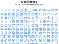 Lightly Icons Webpage
