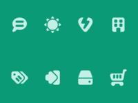 More Roundies Icons