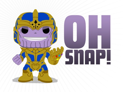 Thanos thanos funko avengers marvel