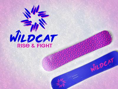 Wildcat Snowboards 80s brush wild sports snow