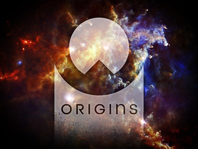 Origins futuristic mystical abstract space