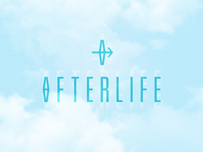 Afterlife abstract mystical futuristic