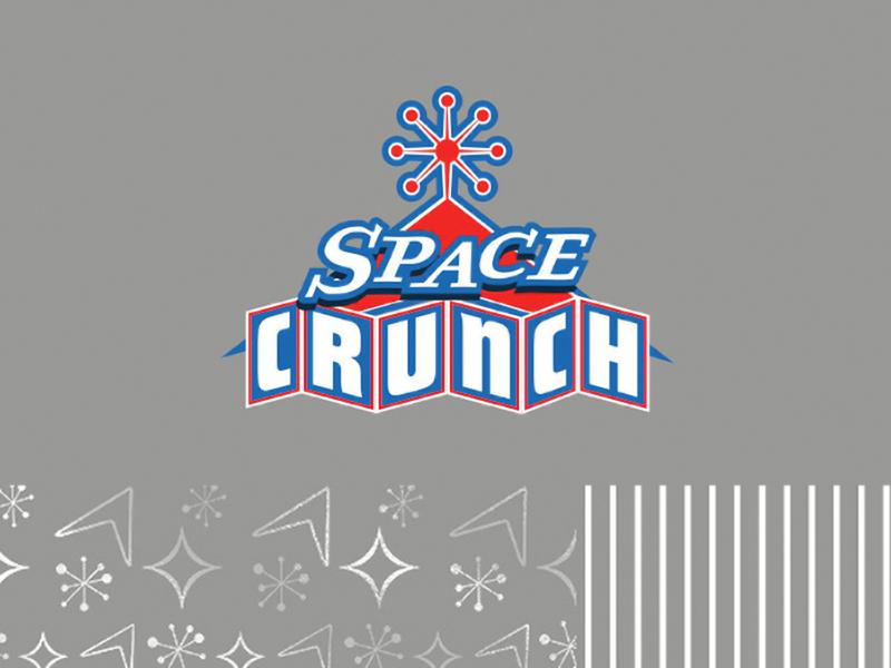 Space Crunch 1950s retro futuristic googie