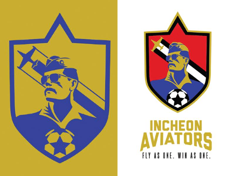 Aviators logo logo design futbol soccer logo