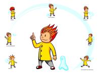 DaVinci Learning Kids - mascot