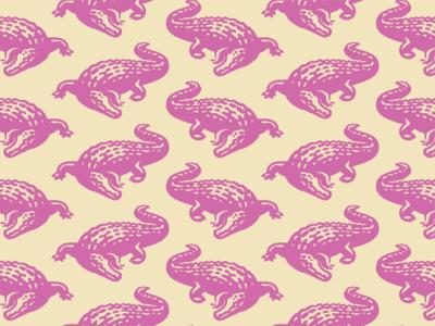 Efferus design typography branding animal wild aligator crocodile illustration vector logo