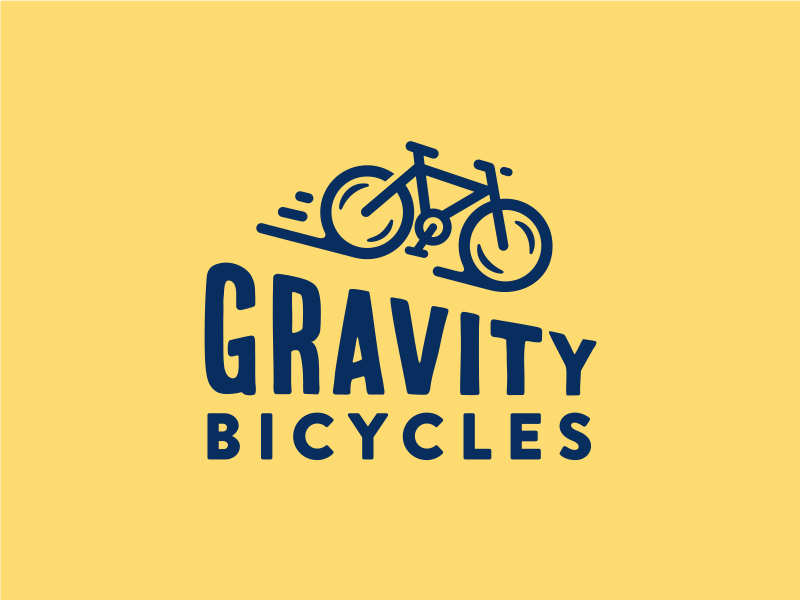 Gravity Bicycles gravity bicycle logo