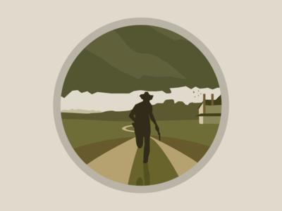 Walking Dead quick icon rapid dead walking icon
