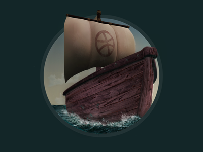 Boat see 3d quick icon dribbble boat