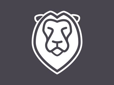 Pixeleo experience user plain line leo pixeleo logo lion ux branding