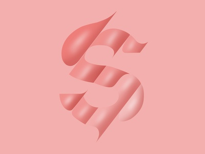 S for typography experiment