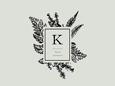 Kristian Irey - Sub Logo hand drawn illustration floral brand designer botanical branding minimal logo mark symbol logo