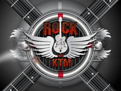Rock n roll flyer