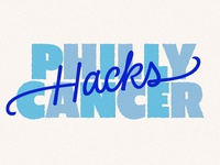 Philly Hacks Cancer Logo Submission