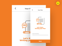 Writing Your Plan Concept