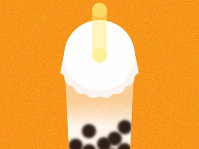 Bubble tea / Tapioca milk tea