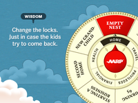 "AARP, ""Wheel of Life"" Ad"