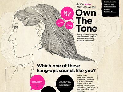 """""""Own The Tone"""" Website"""