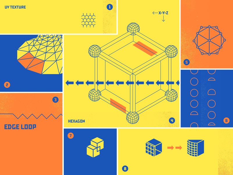 Hexagon Toolbox Cover cover blog