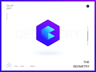 Geometry rectangular,gradation shapes color geometry