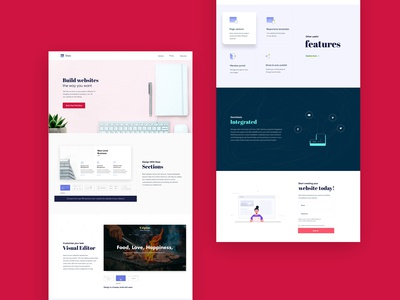Zoho sites Redesign 2