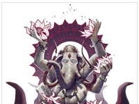 Ganesh light 01
