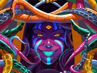 Cthulhu Queens - Medusa