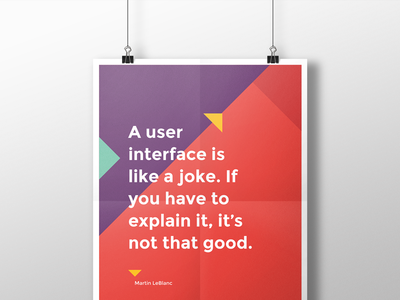 Superlab Posters quote branding superlab poster