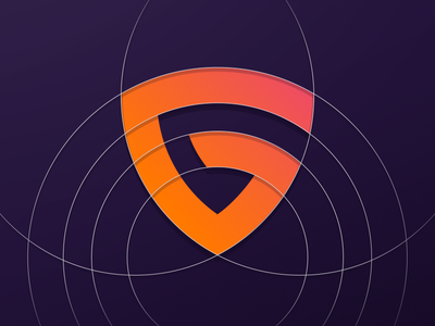 Icon design for a new client guides g shield icon app icon branding
