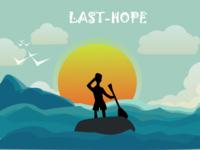 Last Hope - Illustration of a lost boy