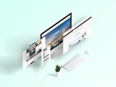 Estate responsive website design