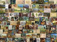 Paul Cézanne Art Quilt