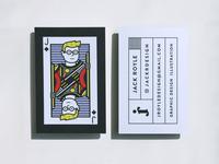 Jack Royle Design business cards