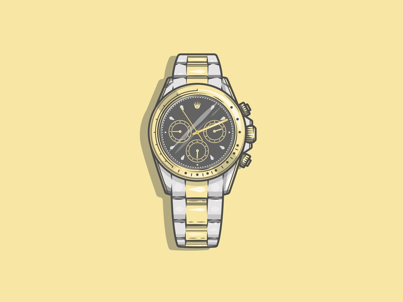 Watch the time fly by Jack Royle on Dribbble