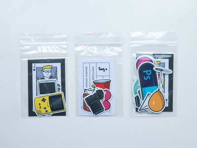Sticker Packs buy mini nintendo adobe shop sale packs sticker stroke vector illustration flat icon dribbble shot