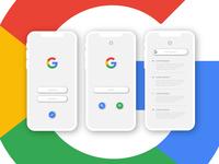 Google Iphone Mock Up