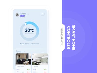 Smart home device UI