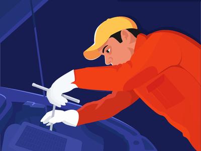 Working class series : The Mechanic