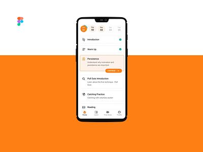 Tasks and Progress figma ux android mobile design ui