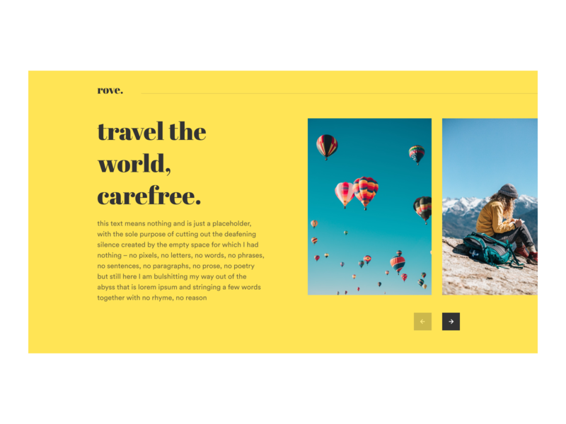Rove Home flat landing page illustration vector web figma ux design ui