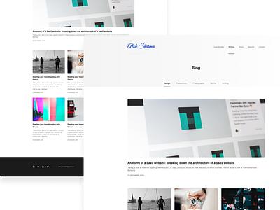 Blog List Page blogpost productdesign ux web website blog