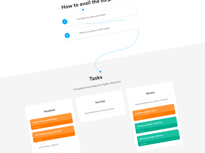 GiftBox - Work In Progress figma landing page web ux design ui