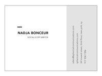 New business, new cards